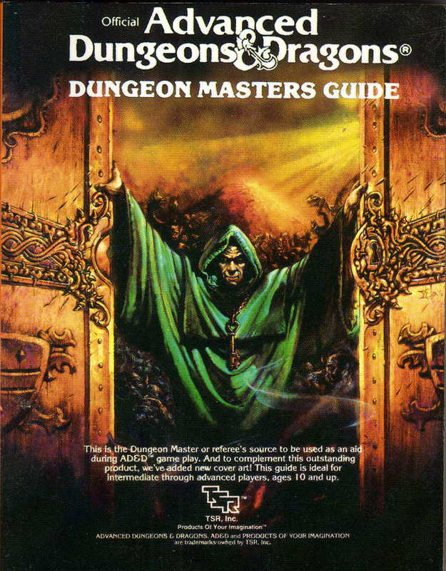 AD&D 1ed Dungeon Master's Guide