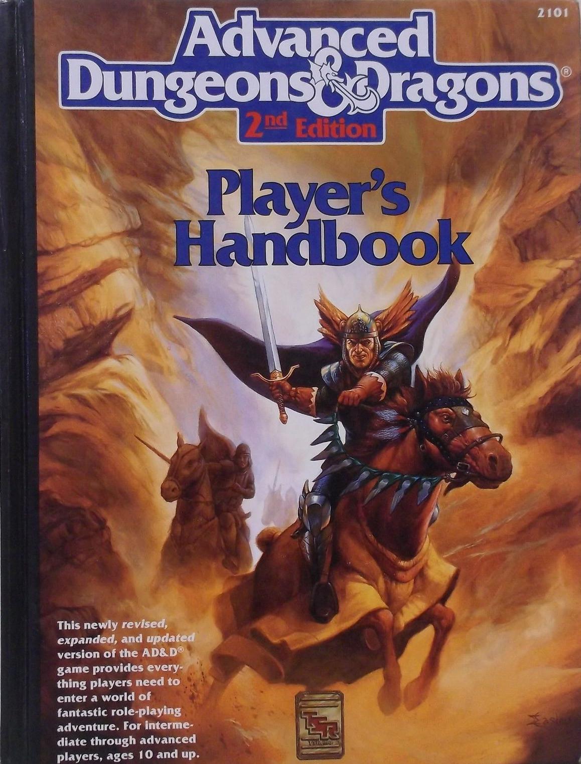 AD&D 2ed Player's Handbook