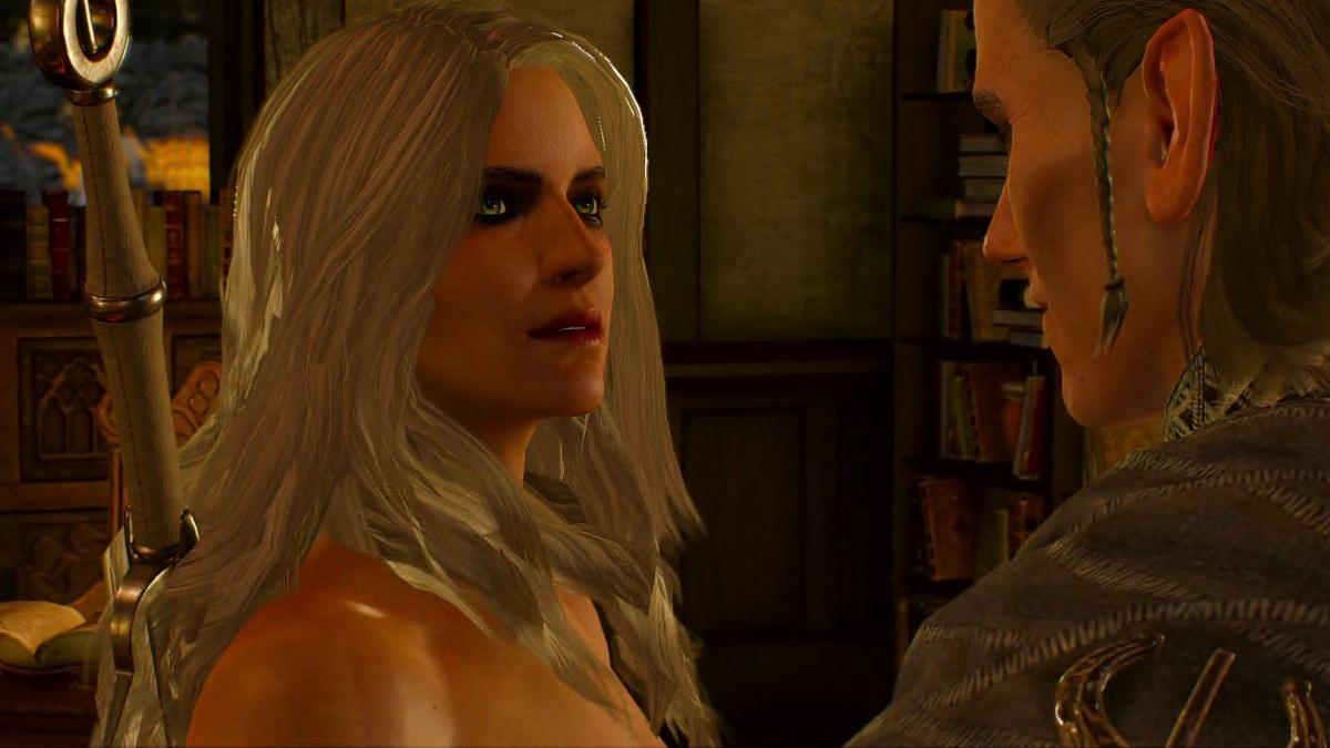 [NSFW] Witcher 3 Nude Photos: Ciri Naked