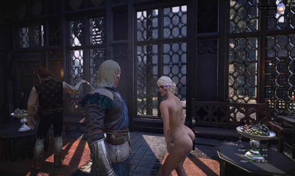 Nude ciri is there