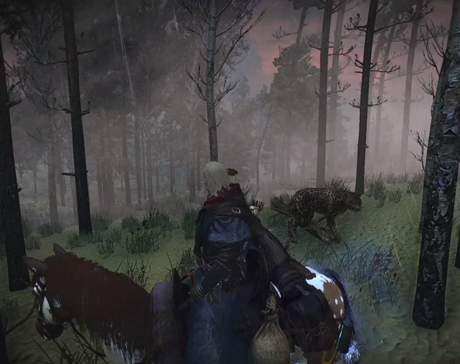 The Foggy World Mod in Velen's Crookback Bog