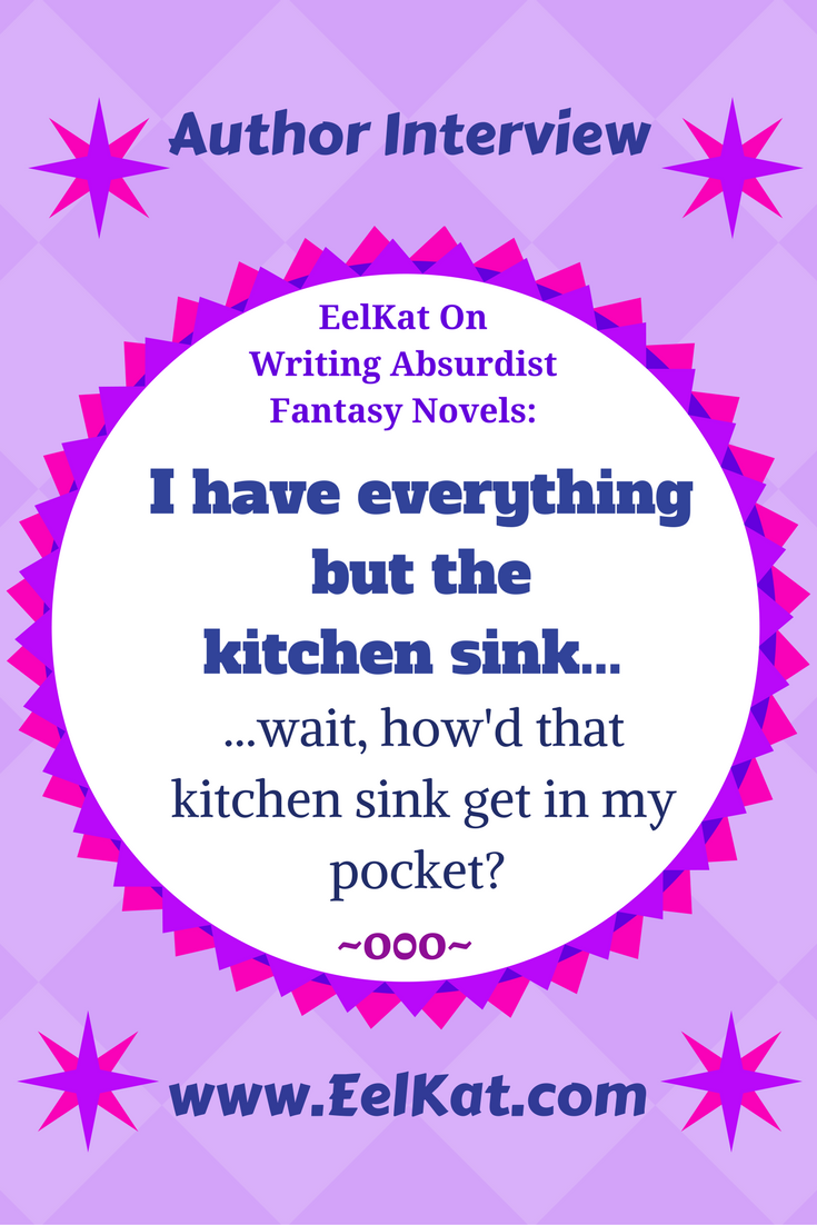 I\'ve everything but a kitchen sink. Wait, how\'d that sink get in my ...